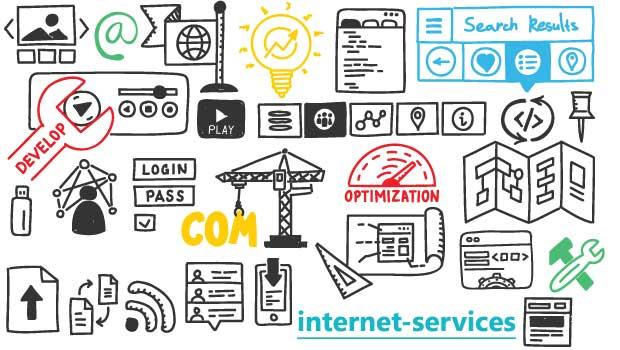 Ελληνικές υπηρεσίες Ίντερνετ, σχεδιασμός ιστοσελίδων
