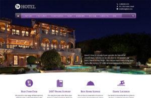 Ιστοσελίδες Ξενοδοχείων - Παράδειγμα 3